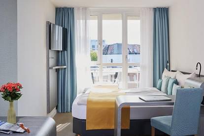 Serviced-Apartments Studio neu renoviert mit Balkon