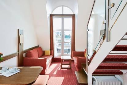 Serviced-Apartments Maisonette 2-Etagen mit Terrasse