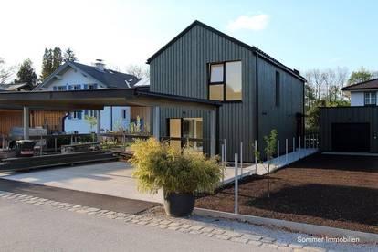 ERSTBEZUG - Modernes Architektenholzhaus am südlichen Stadtrand - In Zukunft ökologisch Wohnen - wooden living 2021