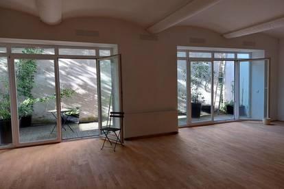 1160 Wien, Grundsteingasse, Werkstatt/Büro ca. 257m2 plus Terrasse, absolute RUHELAGE! Euro 590.000.--