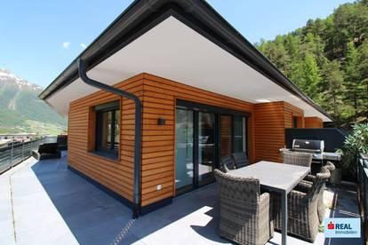 Seltene Gelegenheit! Neuwertige Penthouse-Wohnung in Sölden!