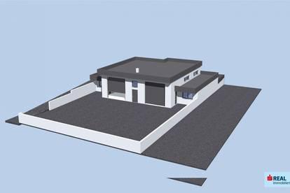 Neubau! Halle, Werkstatt oder Lagerraum im Gewerbegebiet von Umhausen zu vermieten!