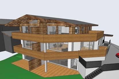 Objekt.Nr.: P1410 - PILLERSEETAL / WAIDRING: Neubauprojekt 2021/22: 6 wunderschöne Eigentumswohnungen in einem großen Landhaus- Südlage unweit zum Skigebiet