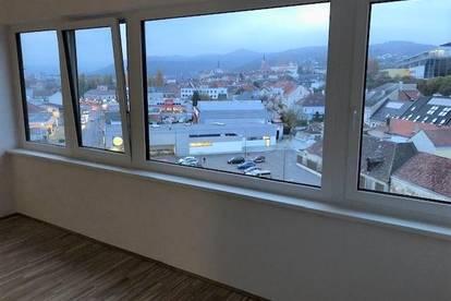 NEUWERTIGE Single-Wohnung mit Garagenplatz und herrlichem Ausblick
