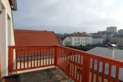 Ruhige Dachgeschosswohnung mit Terrasse in Krems-Zentrum