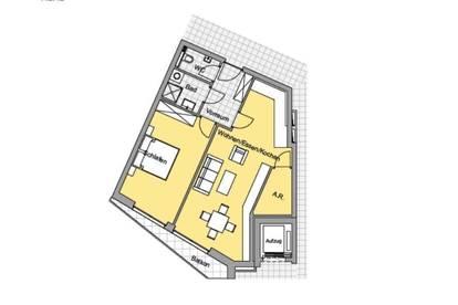 NEUE GRUNDRISSE!!! St.Leonhard! Neubau-2-Zimmerwohnung mit Innenhofblick auf denkmalgeschützte Villa!
