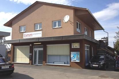 Geschäfts-, Büro- & Austellungsflächen mit Parkplätzen in Frequenzlage Nähe Shopping-City-Seiersberg
