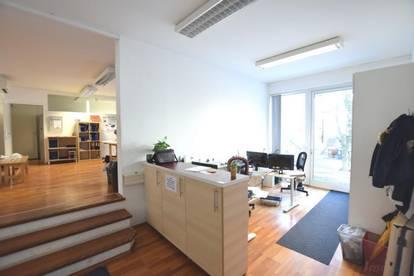 Modern ausgestattete Büroflächen