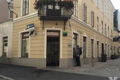 Markantes Geschäftslokal in der Stadt Salzburg/Bergstraße