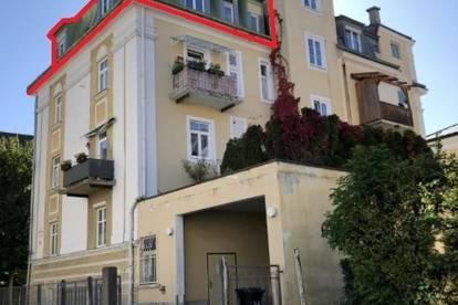 3,5-Zimmer-Dachgeschoßwohnung in Salzburg / Elisabeth-Vorstadt
