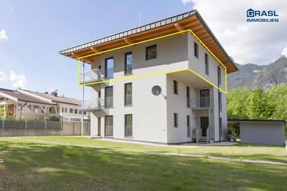 Maurach am Achensee (W5): Sonnige 3 Zi.-Wohnung mit Terasse und Garten