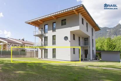 Maurach am Achensee (W2): Sonnige 2 Zi.-Wohnung mit Terrasse und Garten