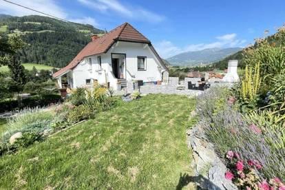 Murau- Kreischberg Nähe, wunderschönes 2 Fam. Haus in Ruhelage am Waldrand, Südlage, Aussicht