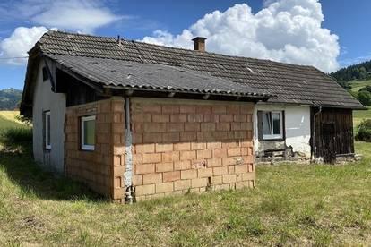 Klagenfurt 7 KM kleines Haus für Bastler in ruhiger Sonnenlage mit Panoramablick
