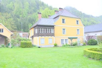 Altes Herrenhaus mit kleinem Nebenhaus, gewerbliche Nutzung möglich, Altbauliebhaber