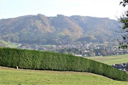Paradies auf Erden - wunderschönes, sonniges Grundstück mit Blick auf Judendorf-Straßengel !