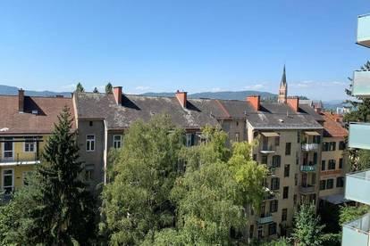 PROVISIONSFREI!! St. Leonhard!! Top sanierte 3 Zimmer Wohnung am Fuße des Ruckerlberges mit Blick auf die Herz-Jesu-Kirche!!
