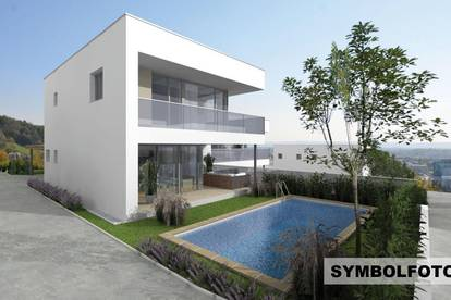 Seiersberg! Doppelhaushälfte errichtet in erhöhter Stadtrandlage mit exklusivem Ausblick!
