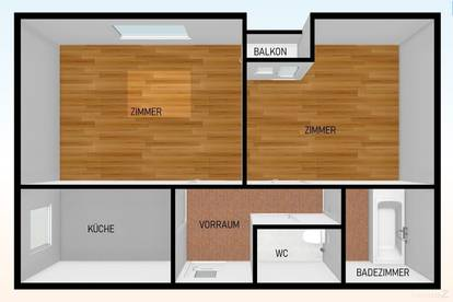 Jakomini- Perfekte 2 Zimmer Wohnung für Pärchen oder 2er WG!