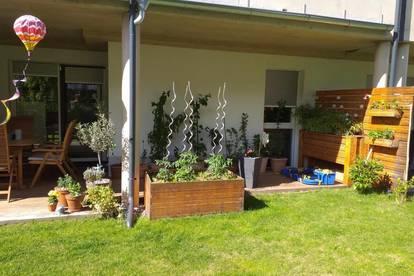 Traumwohnung in Wetzelsdorf - wunderschöner Garten und Terrasse!