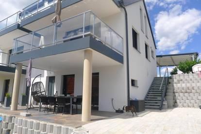 Riederhof-Mantscha - wunderschöne Doppelhaushälfte in qualitativ hochwertiger Ausstattung - 4 Zimmer mit traumhaft schönen Ausblick!!