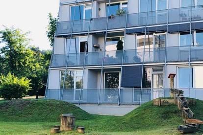 Andritz - Sehr helle und gut aufgeteilte neusanierte 2 Zimmerwohnung mit Balkon und Tiefgaragenplatz