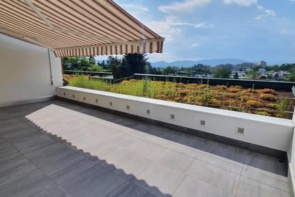 St. Peter! Prestigeträchtige Penthouse-Wohnung mit großem Eigengarten und herrlicher Aussicht im Grazer Topviertel!!!