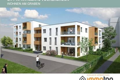 """Letzte Wohnung mit 73,80 m² Wfl. in den """"CITY APARTMENTS""""- im Zentrum von Vöcklabruck"""