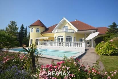 Traumvilla in exklusiver Leondinger Aussichtslage. Eine wirklich seltene Gelegenheit für absolutes Luxuswohnen in Luxuslage.