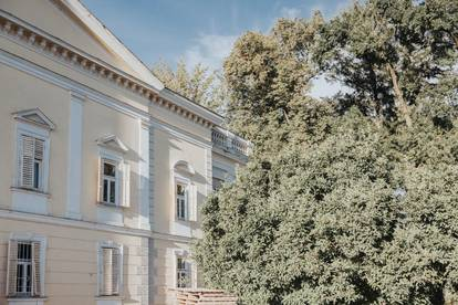 Bürofläche mit 100 m² in der revitalisierten Ceconi Villa am Quartier Rauchmühle