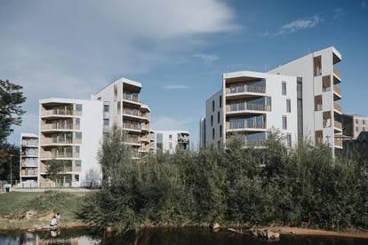 Neue 2 Zimmer Wohnung mit großzügigem Balkon im historischen Quartier Rauchmühle