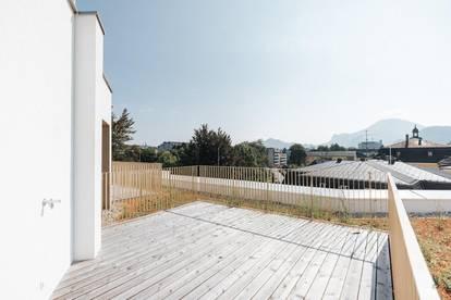 Penthouse am Quartier Rauchmühle | Dachterrasse und Balkon