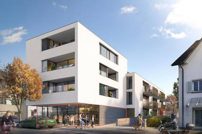 Handels- oder Gewerbefläche im Zentrum | Neubauprojekt in Dornbirn
