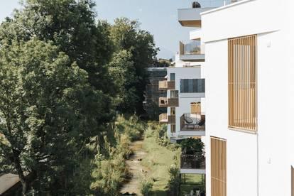 3 Zimmer Wohnung mit 83 m² am Maxglaner Mühlbach | 2 Balkone | Erstbezug