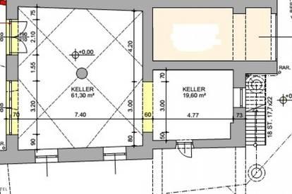 Geschäftsfläche mit ca. 80 m² im Zentrum von Scheibbs