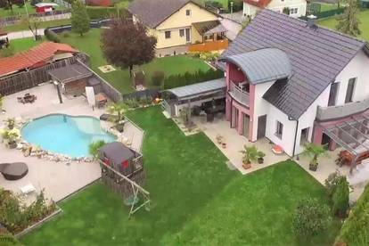 Modernes Einfamilienhaus mit Pool und Wohlfühlgarten!