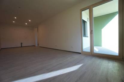 2-Zimmerwohnung in Hagenberg, 6,5 m² Loggia und 36 m² Garten, Erstbezug, Top 202