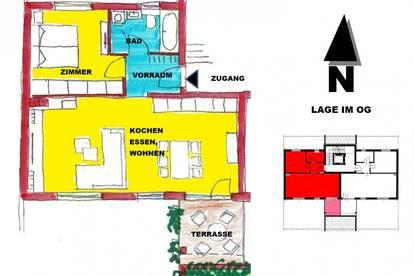 schlüsselfertige Wohnung mit Terrasse in Sooß bei Baden