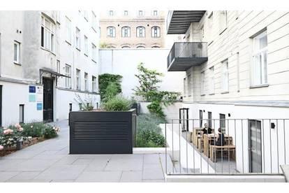Leben im Strozzihof! 2 Zimmer Erstbezug mit Terrasse in 1080!