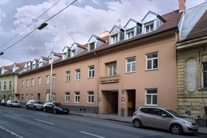 Grabenstraße 38/21-  Singlewohnung mit Balkon