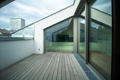 360°! Exklusive Erstbezug-DG-Wohnung mit großzügiger Terrasse in bester Citylage!
