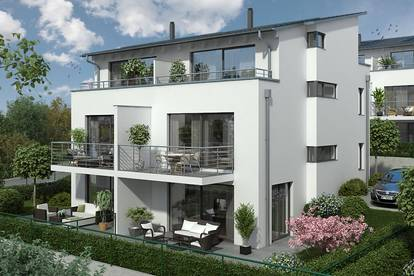 """ICH BIN DANN MAL DAHEIM"" - EXKLUSIV WOHNEN AM VEIGLBERG - Doppelhaushälfte Top 6 - Erstbezug - Wohnkeller - 2 KFZ Stellplätze - Garten - Terrassen - Balkon - Schlüsselfertig"