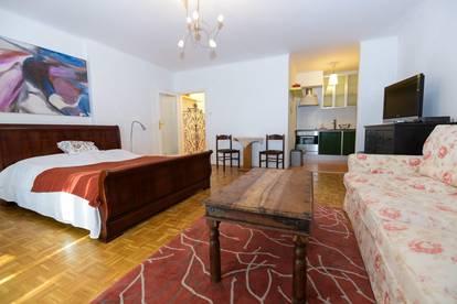 Zentrumslage- Günstige Wohnung mit Loggia