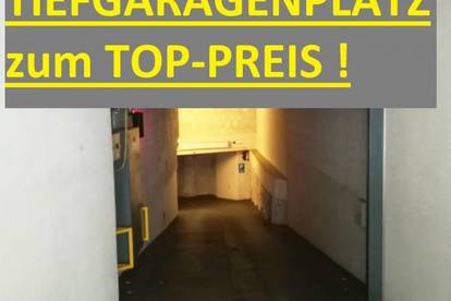 TIEFGARAGENPLATZ in begehrter Lage im 8. Bezirk - Noch 1 Stellplatz erhältlich - ANLAGE ODER SELBER PARKEN - 3. UG - U-Bahn-Nähe - Lift