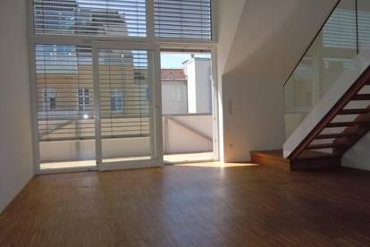 Traumhaftes 3,5-Zimmer-Maisonette-Penthouse mit Balkon und Terrasse