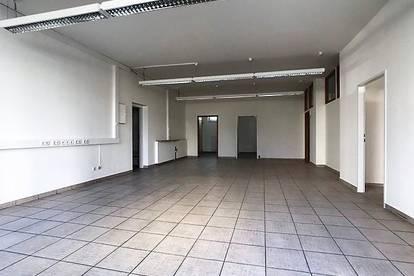 Geschäftslokal mit ca. 116 m² in Linz mit sehr interessanter Staffelmiete