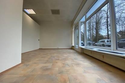 71 m² Geschäftslokal mit ca. 6 m langer Auslagenfront
