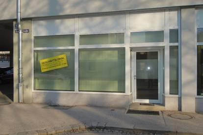 Kleines Geschäftslokal mit ca. 6 m langer Auslagenfront