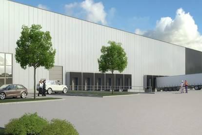Neubau Logistikflächen neben A3 – bezugsfertig ab Q4 2021