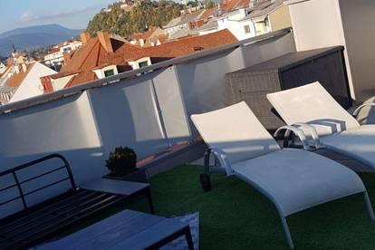 Neubau-Traumhaftes Penthouse-Mietwohnung -  zentral in Graz!